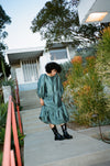 Mae Dress - Balsam Green