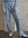 Anna Pants - Blue Stripe