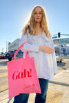 Classic Gah! Tote - Pink/Red