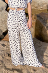 Holiday Palazzo Pants - Polka Dot