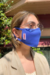 Knit Mask - Blue