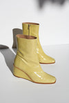 Callisto Wedge Boot - Chartreuse