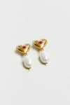 Katalina Earrings - Gold Bronze