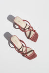 Willow Sandal - Rose Glitter