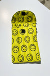 "Puffy Laptop Sleeve 16"" - Yellow Happy"