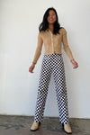 Kokomo Pants - Black & White Check