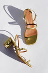 Alba Sandals - Albarino Satin