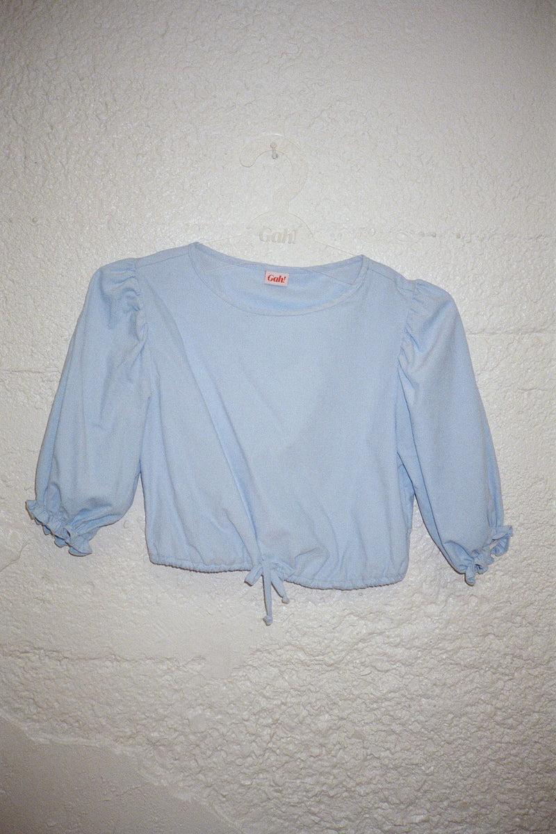Sadie Top - Cloud Corduroy