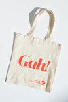 Gah! Tote - Red/Natural