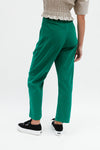 Harriett Trouser - Green Corduroy