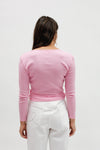 Lucille Top Long Sleeve - Pink