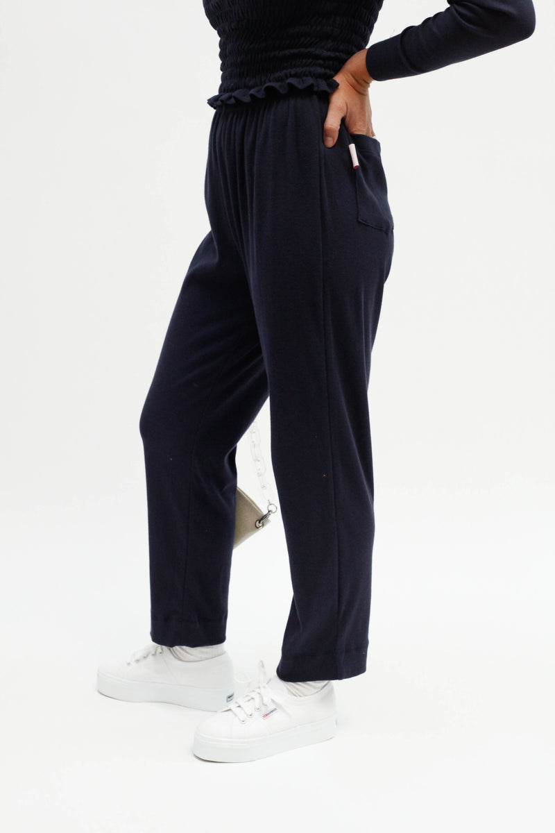 Maja Sweatpant - Navy
