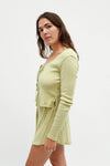Mia Lounge Set Long Sleeve - Sage