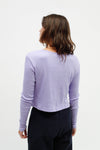 Mia Top Long Sleeve - Lavender