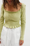 Sophie Top Long Sleeve - Sage