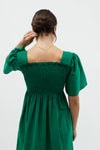 Toni Dress - Emerald Corduroy