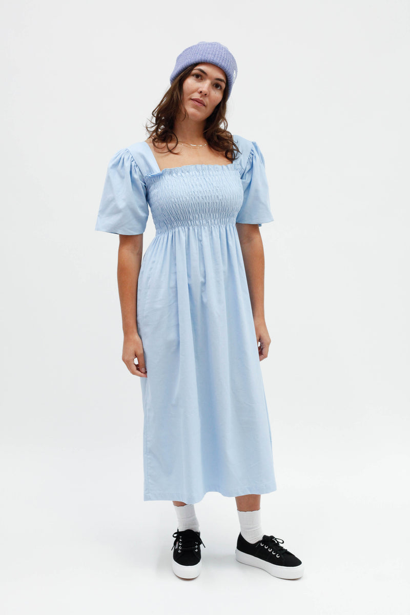 Toni Midi Dress - Cloud Corduroy