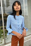 Olivia Top - Cornflower Blue