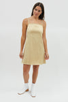 Tori Slip Dress - Cashew