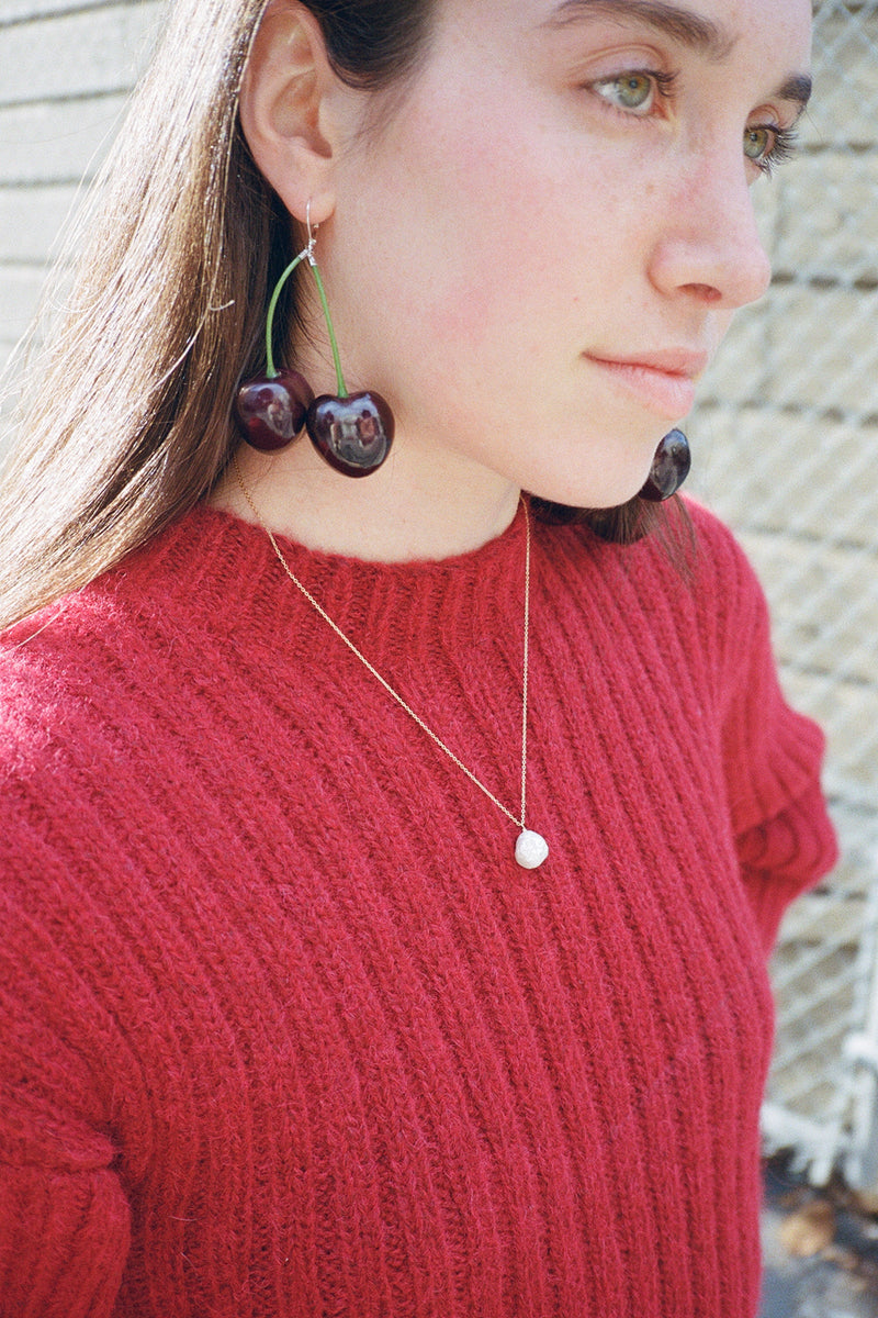Cherry Earrings - Wild Cherry