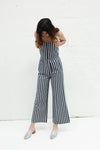 Sailor Jumpsuit Salty Stripe - Navy & White