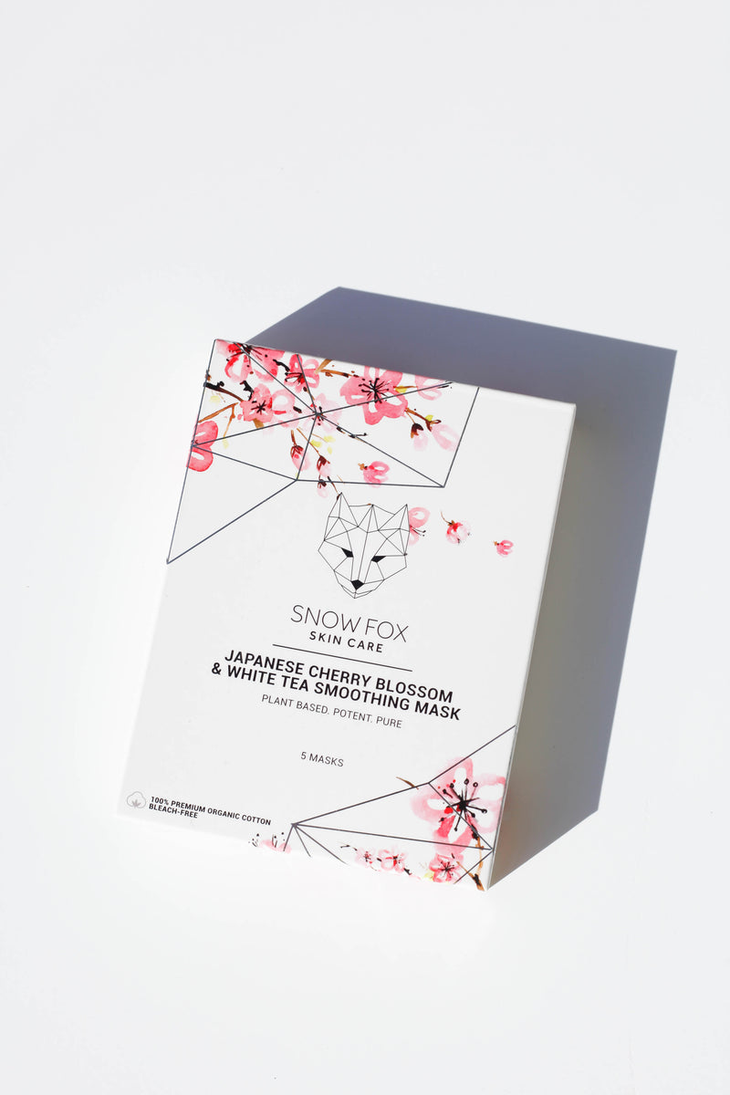 Japanese Cherry Blossom & White Tea Smoothing Mask