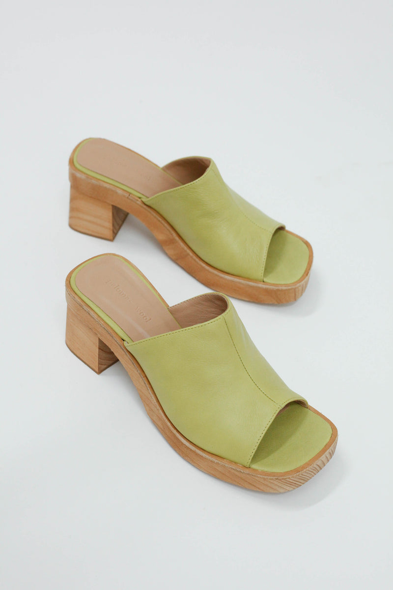 Valensia Mule - Medium Green
