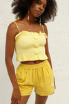 Americana Cotton Top - Marigold