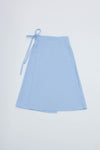 Capri Wrap Skirt - Cloud Corduroy
