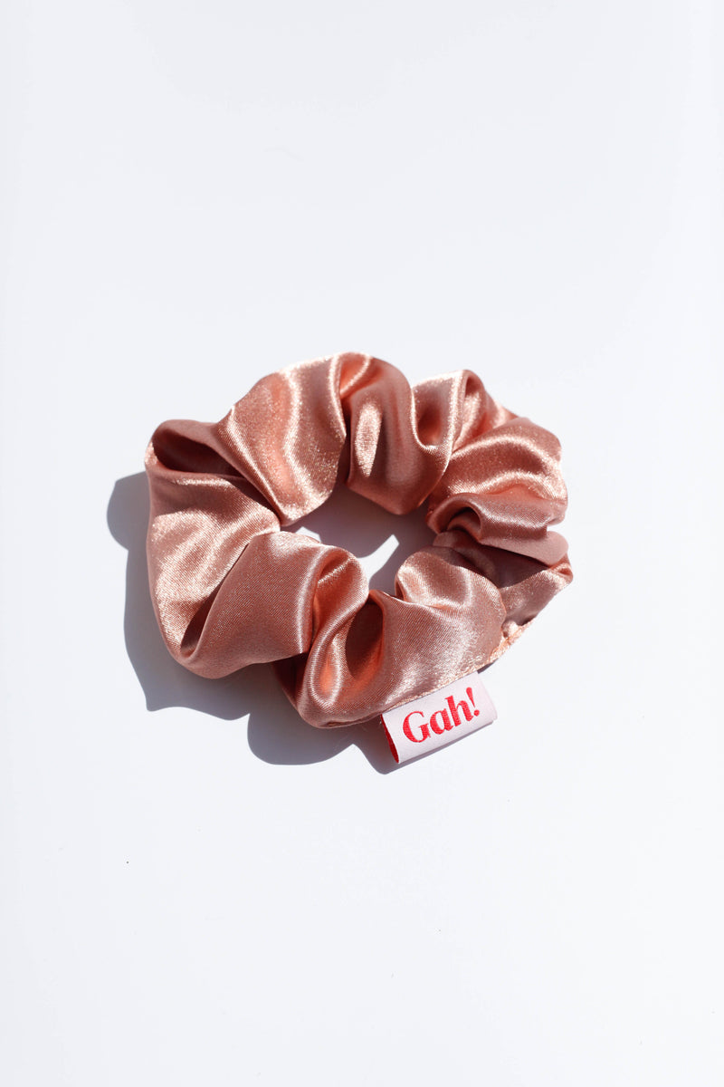 Satin Scrunchie - Rose
