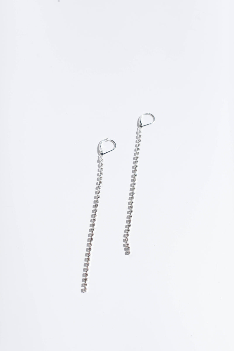 Ingrid Earrings - Silver