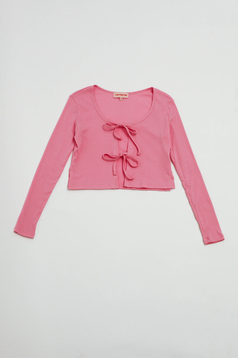 Mia Top Long Sleeve - Pink