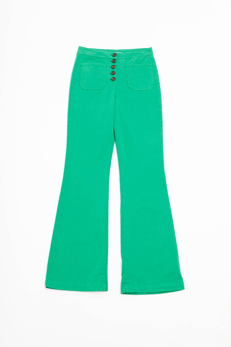 Margherita Pant - Green