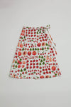 Capri Wrap Skirt - Fruit Print