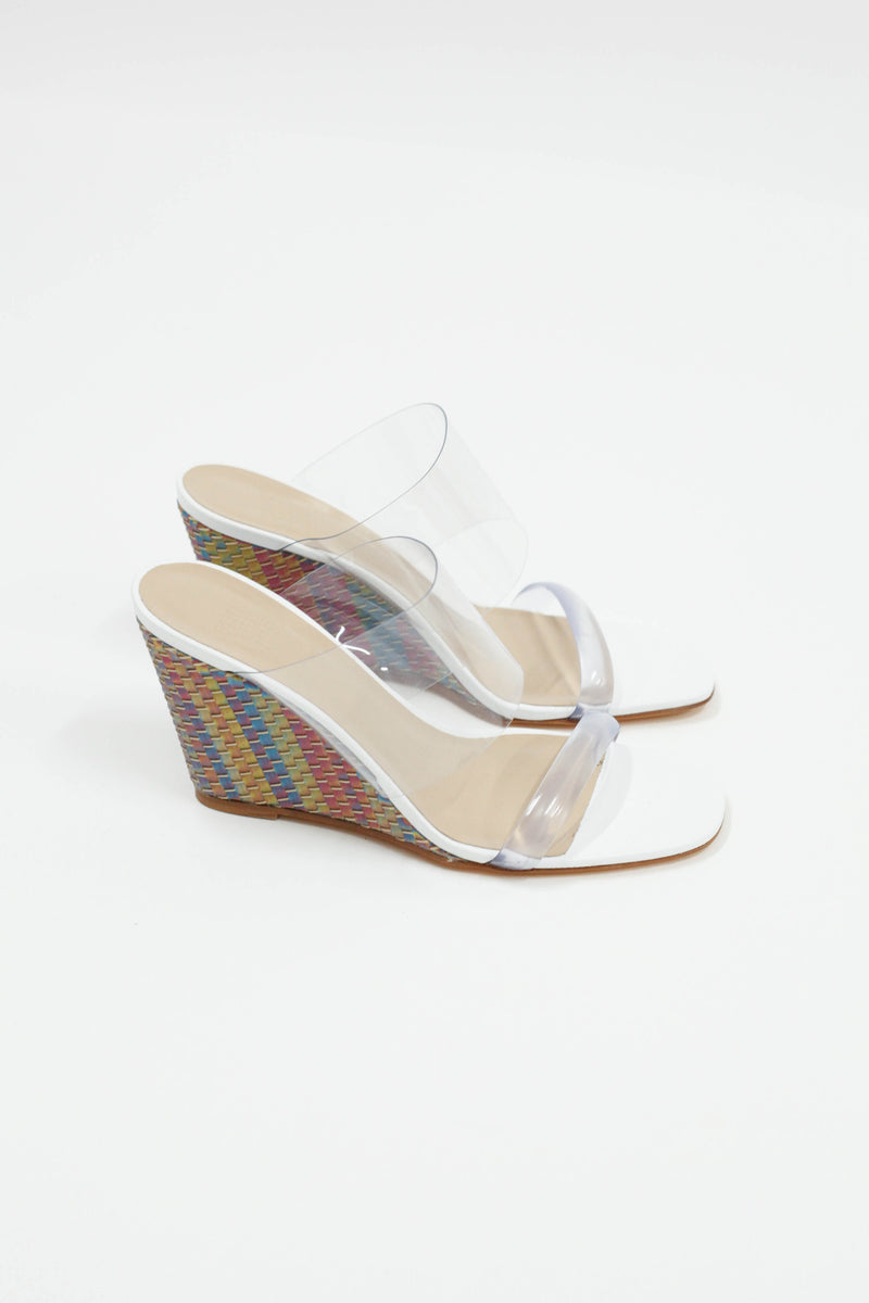 Olympia Wedge - Rainbow