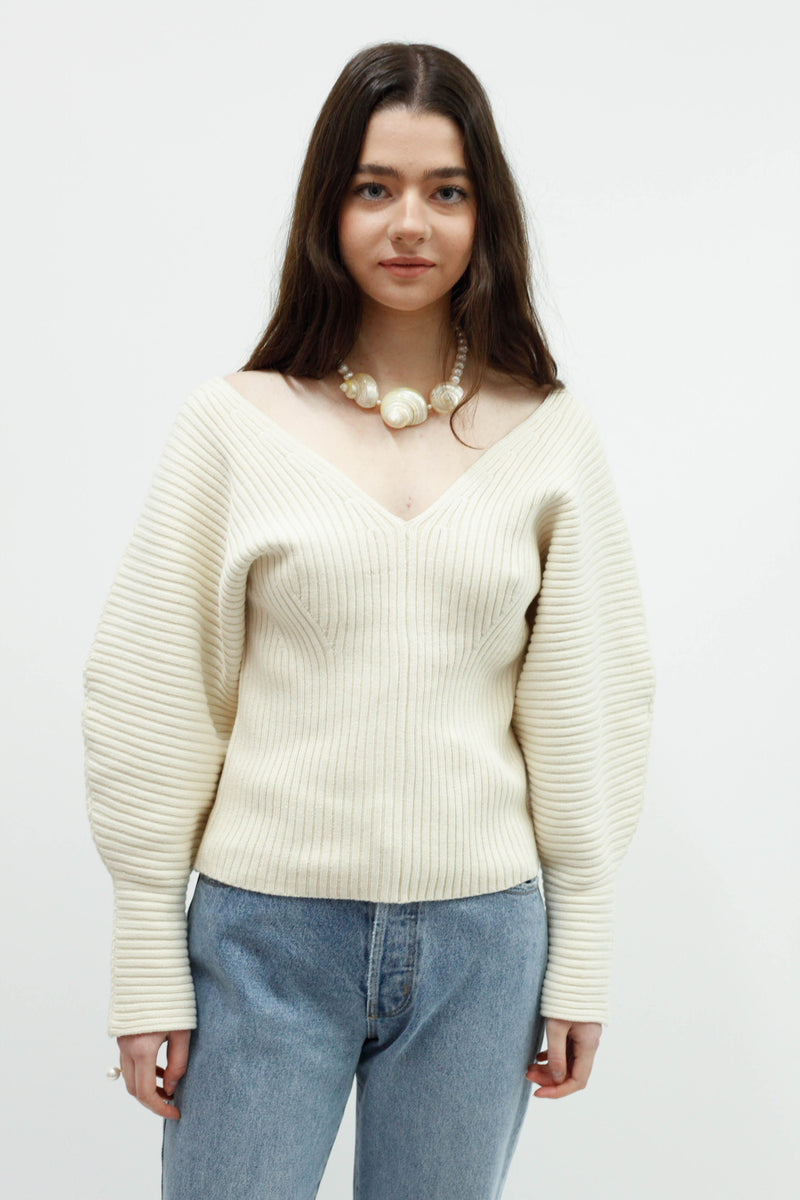 Olla Sweater - Cream Knit