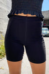 Seamed Bike Short - Black