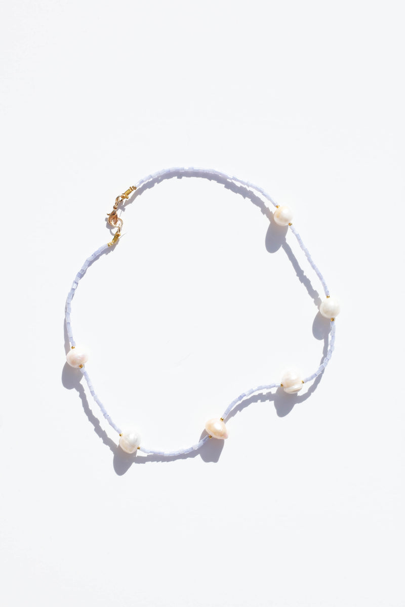 Honey Necklace - Pastel Blue