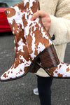 PG Boot - Brown Cow