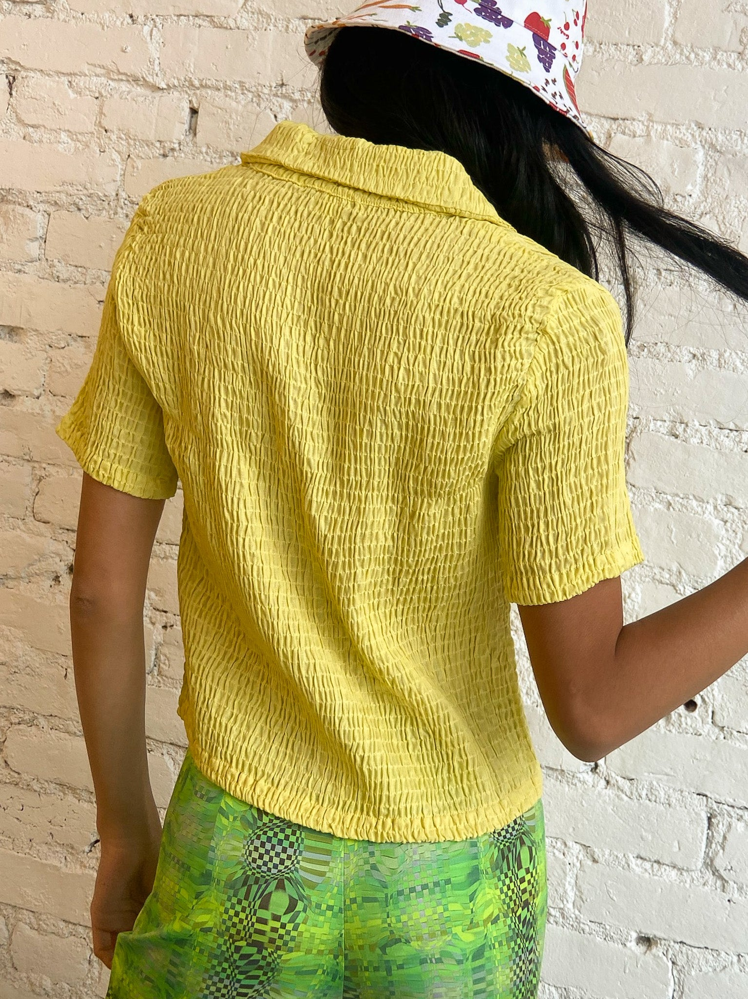 Josefina Top - Yellow