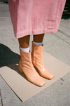 Emilia Boot - Light Apricot