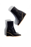 Callisto Wedge Boot - Black