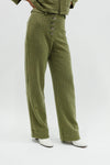 Castelbuono Plaid Pant - Green