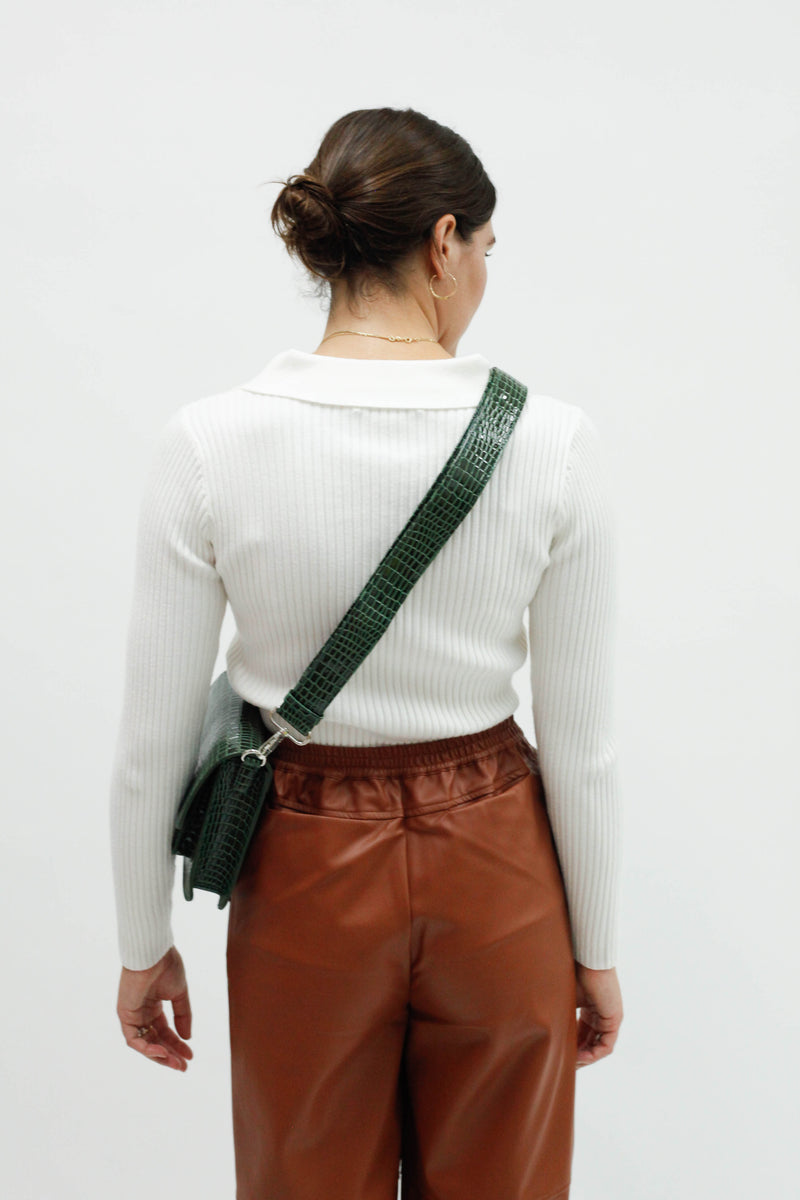 Lucie Sweater - White