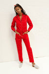 Stephen Boiler Suit - Cherry