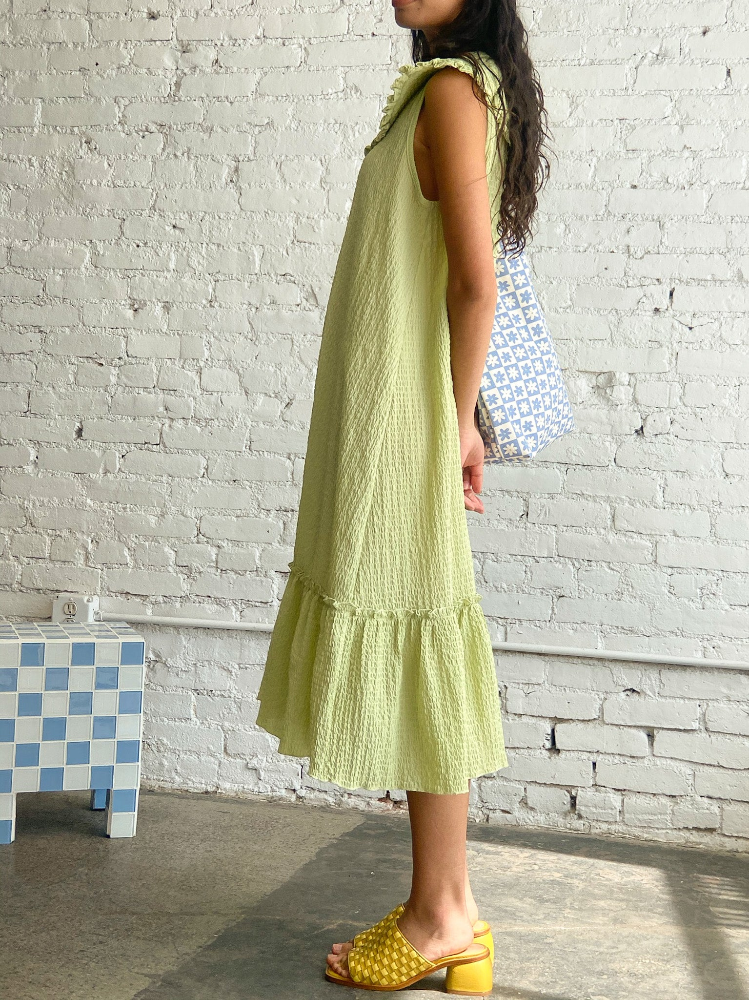 Stevie Midi Dress - Green