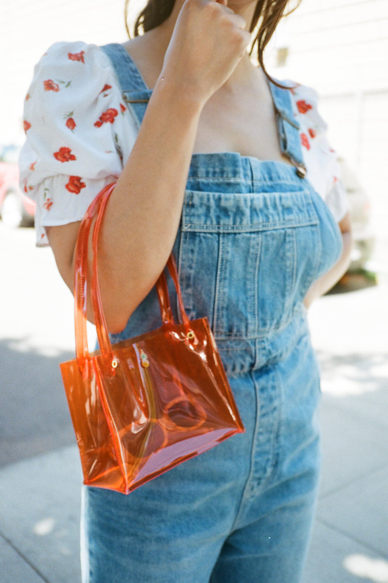 Mini PVC Bag Pineapple - Orange
