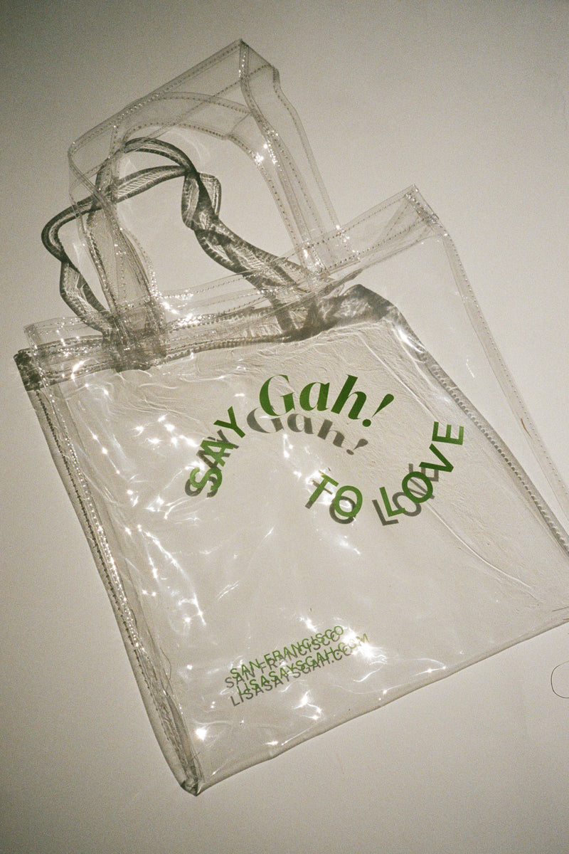 Pride Mini Vinyl Tote - Green
