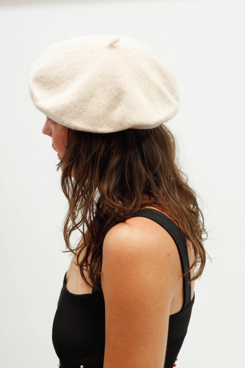Beret - Light Beige