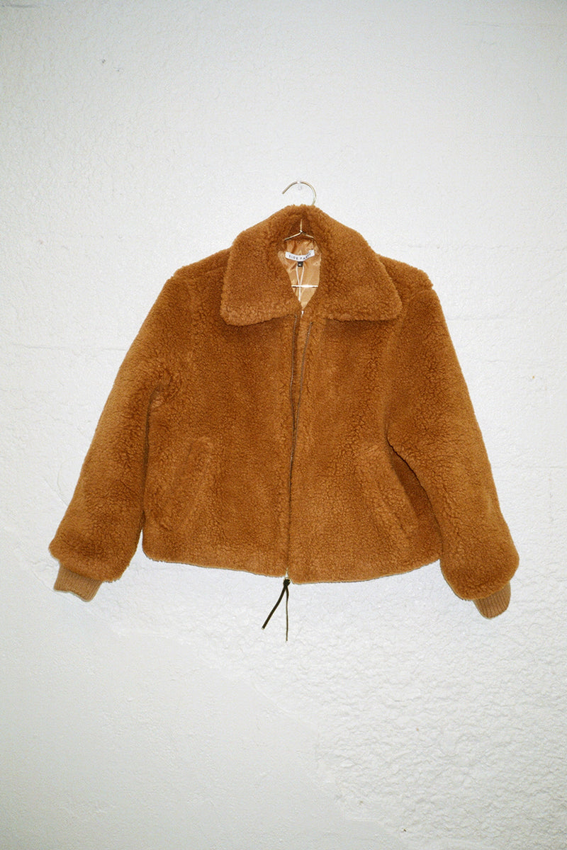 Dede Teddy Bomber - Brown